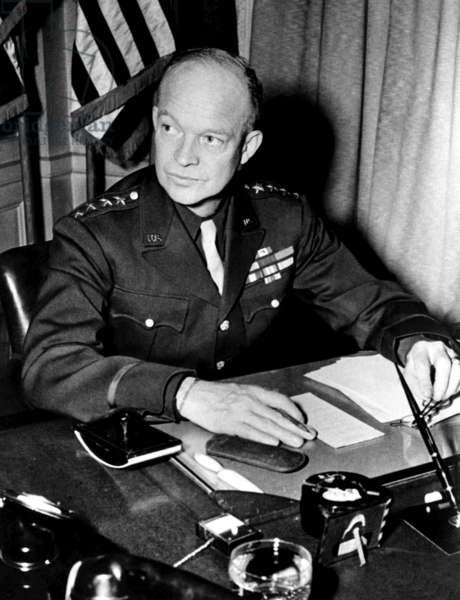 General Dwight D. Eisenhower, January 18 1944