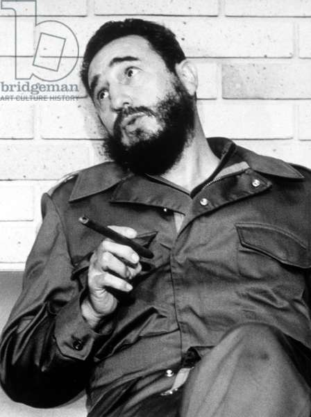 Fidel Castro, in 1974.