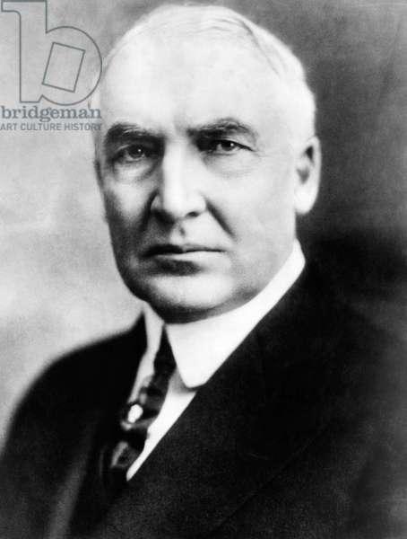 Warren G. Harding (1865-1923), United States President 1921-1923, c.1920s