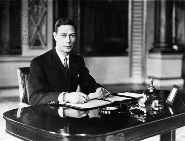 British Royalty. King George VI of England, 1937