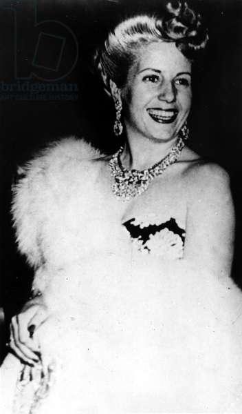 Eva Peron, c.late 1940s