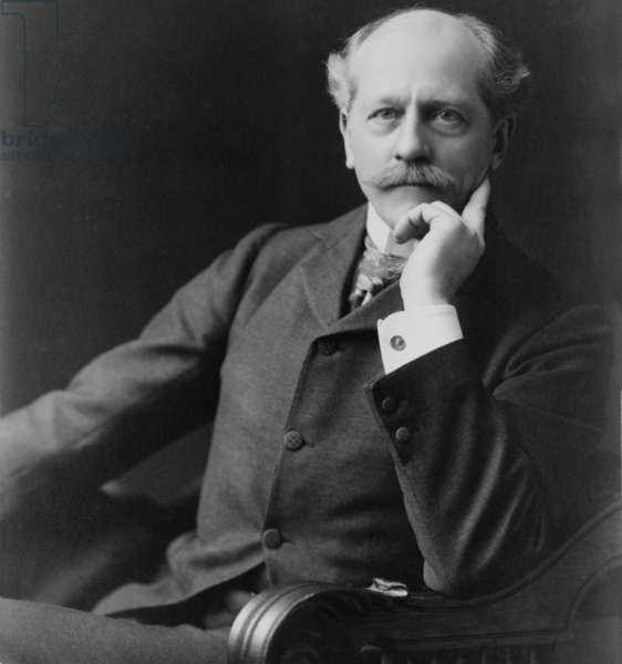 Percival Lowell (1855-1916) American Astronomer, founder of the Lowell Observatory at Flagstaff, Arizona. He planned the observations of Nepture that lead to the discovery of Pluto