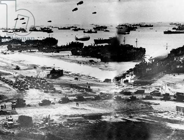 NORMANDY, beaches on D-Day