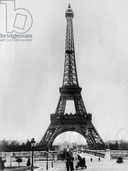 Eiffel Tower, Paris France. c. 1928