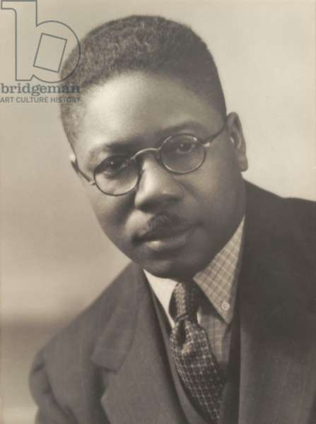 Aaron Douglas (1899-1979), African American painter and a major figure in the Harlem Renaissance