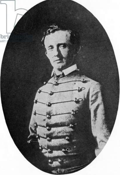 General George Custer as a West Point Cadet. 1800's