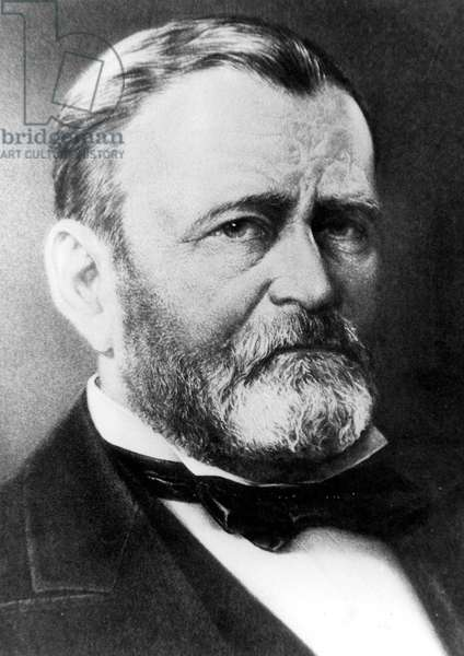 ULYSSES S. GRANT in the 1870, s.