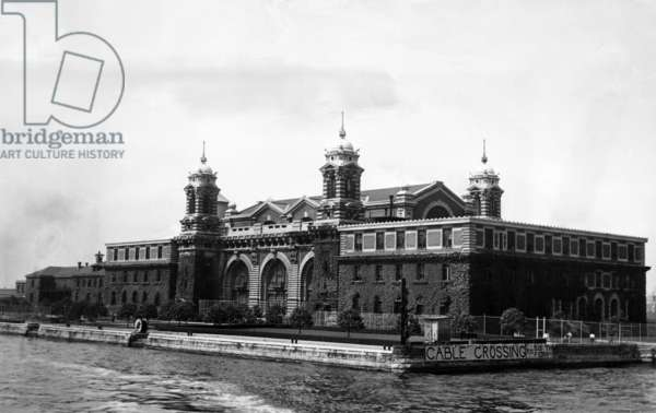 Ellis Island, after immigration processing ended. New York City, c.1947