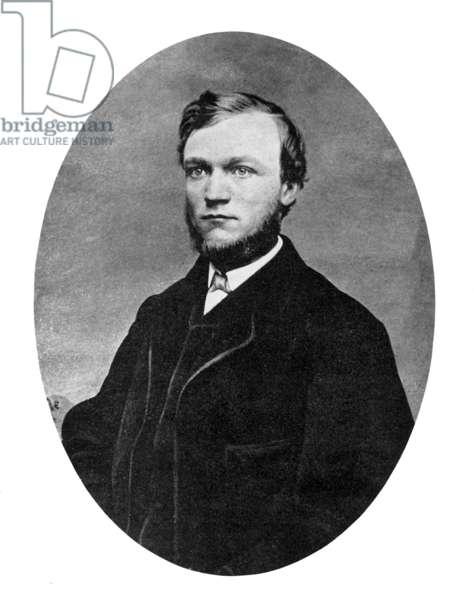 Andrew Carnegie, 1862.