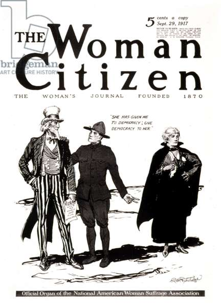 The Woman Citizen: Official Organ of the National American Woman Suffrage Association, 1917