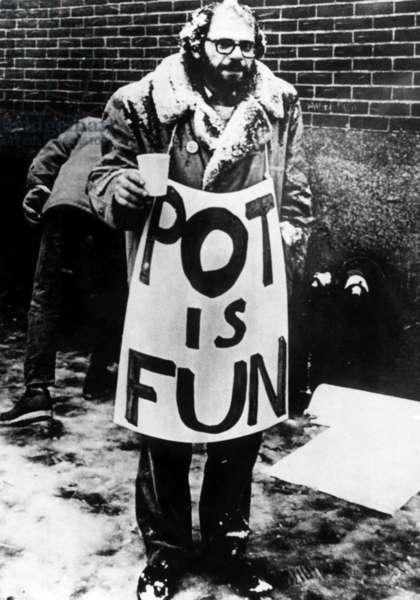 Beat Poet Allen Ginsberg, c.1960s