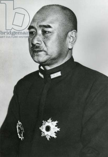 Admiral Shigetaro Shimada, Minister of the Japanese Navy. He knew of and approved the attack on Pearl Harbor. After the war he convicted of waging aggressive war and imprisoned until 1955