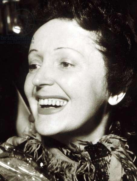 EDITH PIAF, late 1940s.