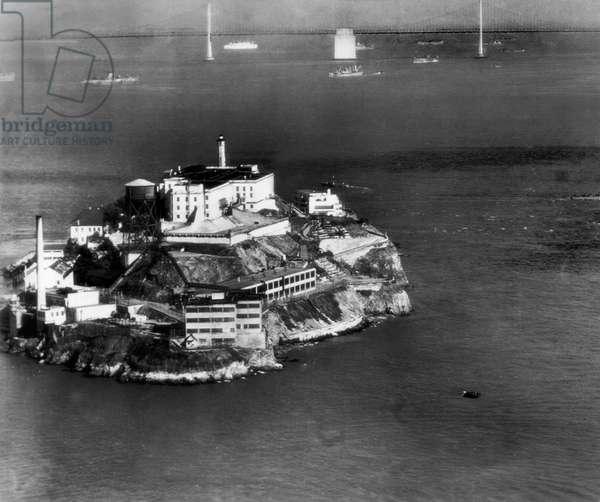 Alcatraz Island, San Francisco, while a prison, c.1940s