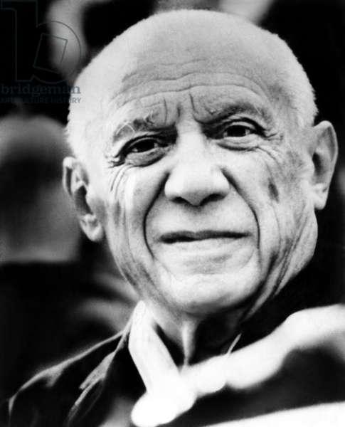 Artist Pablo Picasso. 1971.