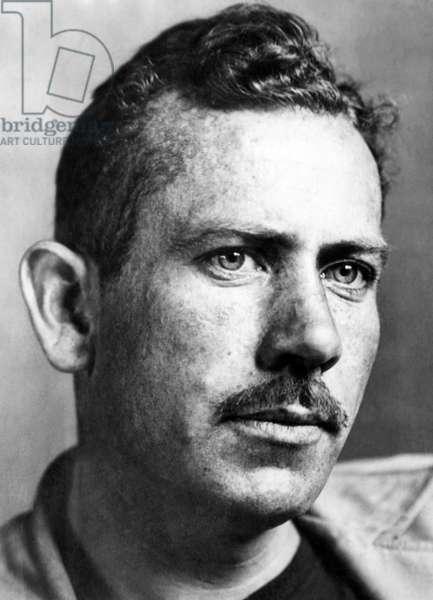 John Steinbeck (1902-1968), American author, c.1930s.