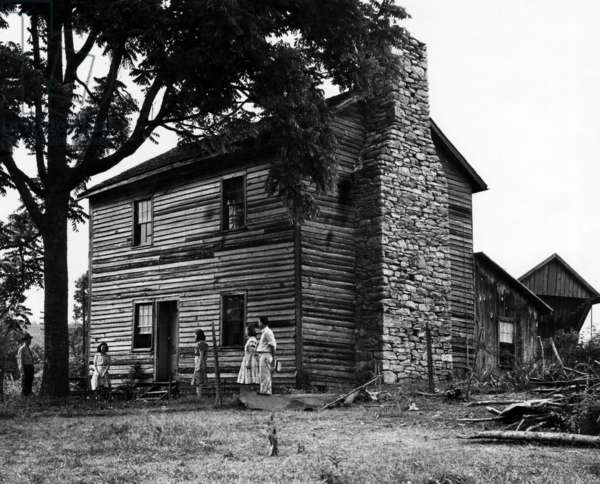 The first home of President Andrew Jackson (1767-1845), Tennessee, c.1940s