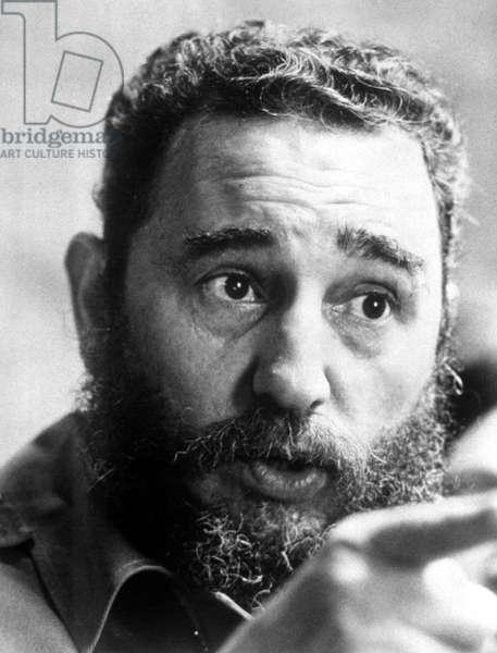 Fidel Castro, c.1977.