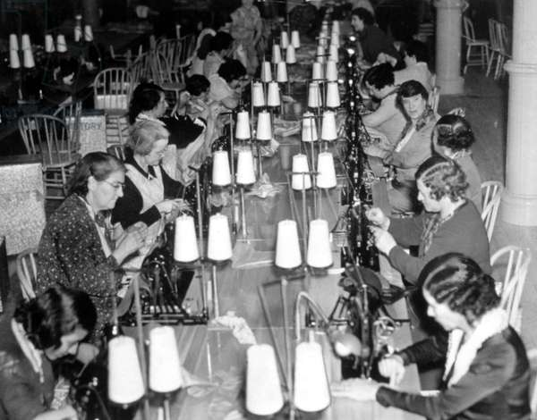 Great Depression, Women at work for National Projects Administration (WPA), 04/24/1936.