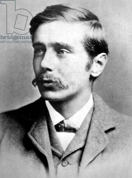 H.G. Wells, author as a young man, in the 1800s