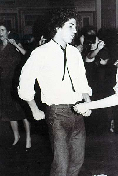 JOHN F. KENNEDY Jr., dancing with Sally Munroe at The Rites of Spring, 1981