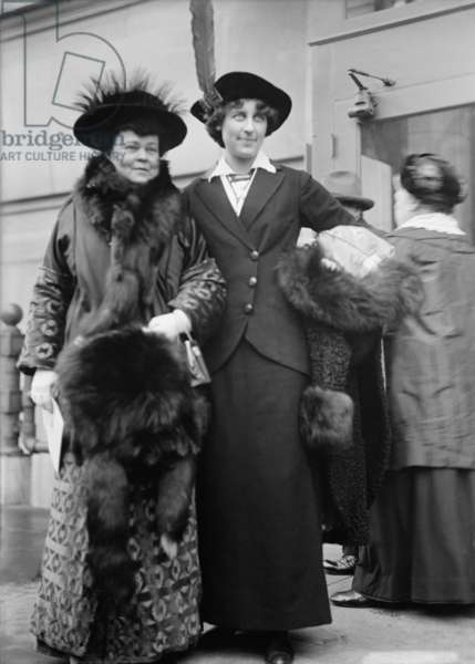 Alva Vanderbilt Belmont and Inez Milholland were wealthy Women's suffrage activists. Belmont was a major funder of the movement to pass the 19th Amendment granting women the right to vote. 1913