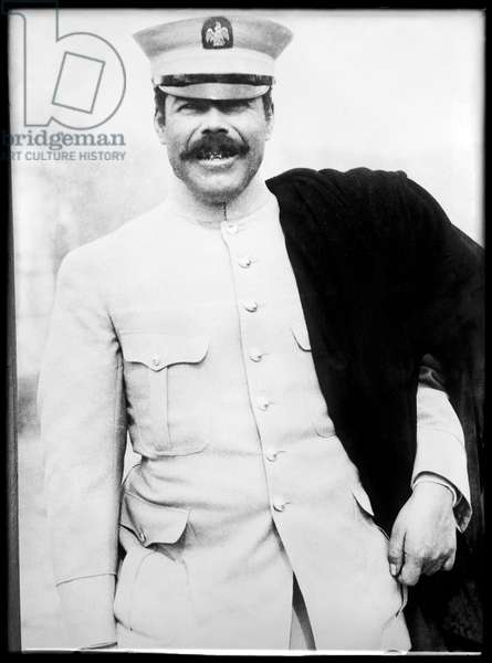 The Mexican Revolution. Pancho Villa, General of the Division del Norte of the Mexican Army. Photo c. 1908-1919