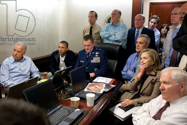 Operation Neptune's Spear,' the mission against Osama bin Laden, May 1, 2011
