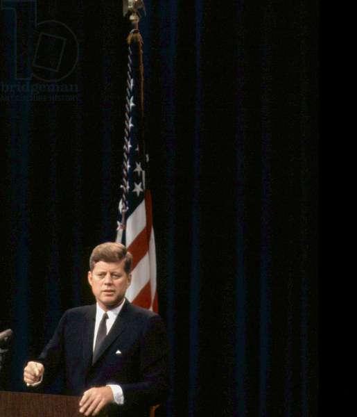 President John F. Kennedy, c. April 1962,