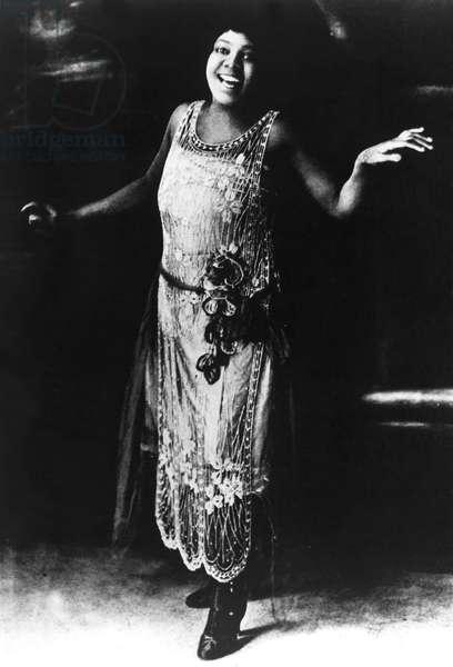 Bessie Smith, blues singer, 1920s