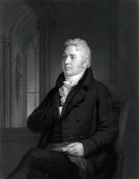 "Samuel Taylor Coleridge (1772-1834), English Romantic writer, best known for ""Lyrical Ballads,"" written with William Wordsworth, and ""Biographia Literaria"" (1817). 1814 portrait by Washington Allston"