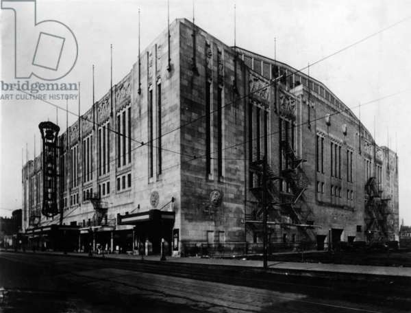 Chicago Stadium, Chicago, Illinois, c.1931