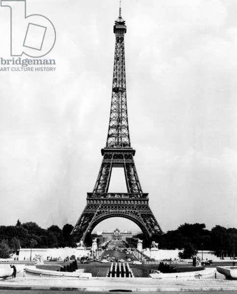 Eiffel Tower, Paris France. c. 1964
