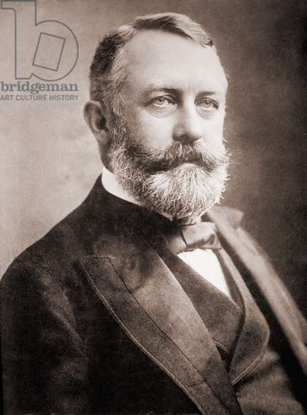 Henry C. Frick (1849-1919), American steel maker and partner of Andrew Carnegie. He built a private collections of European paintings, now housed in his former mansion in New York