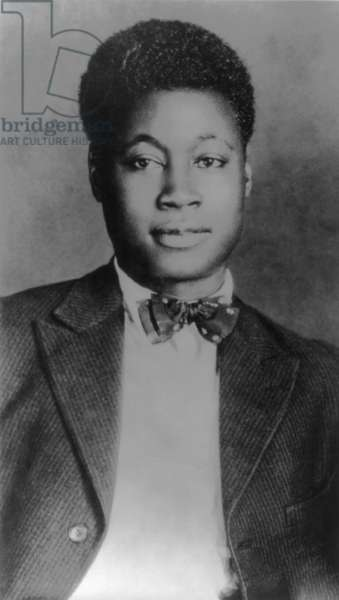 Claude McKay (1889-1948), Jamaican born African American poet and novelist, was a celebrated Harlem Renaissance write . c. 1920
