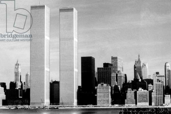 WORLD TRADE CENTER, Twin Towers, 1976.