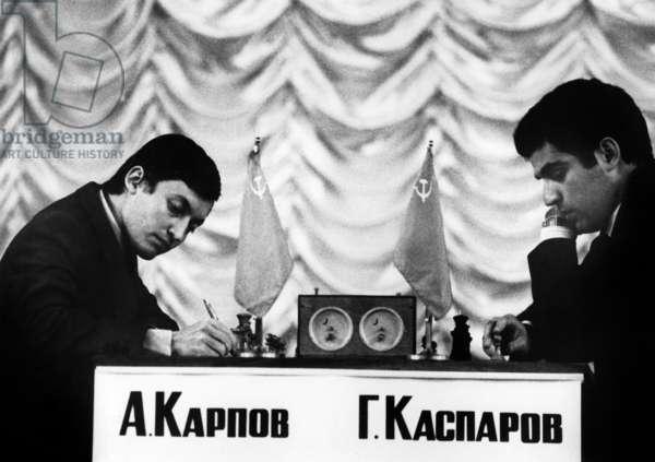 KARPOV et KASPAROV