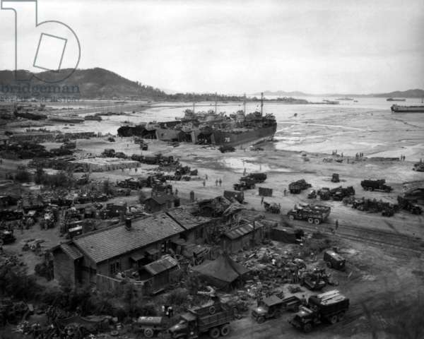 Korean War: Invasion of Inchon, September 15, 1950.