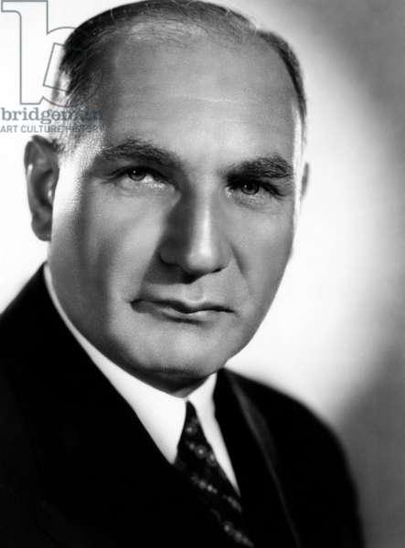 Albert Warner, (1883-1967), co-founder and Treasurer of Warner Brothers, 1937.