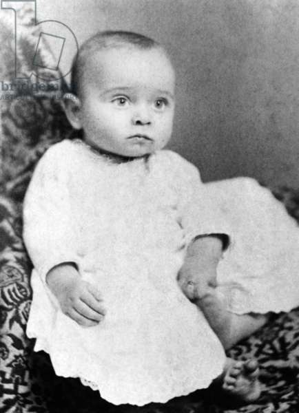 Harry Truman baby picture. He was born on May 8, 1884