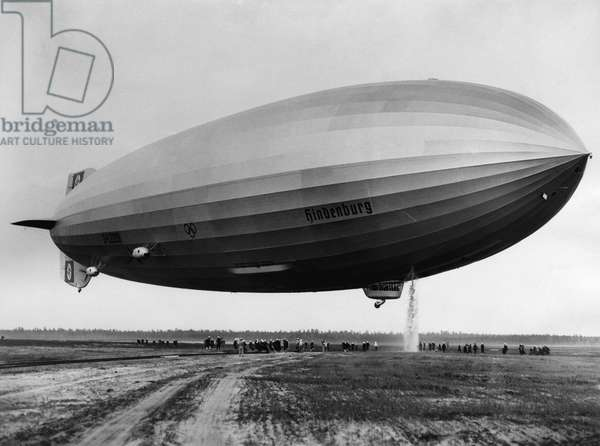 The LZ 129 Hindenburg, c.May, 1936
