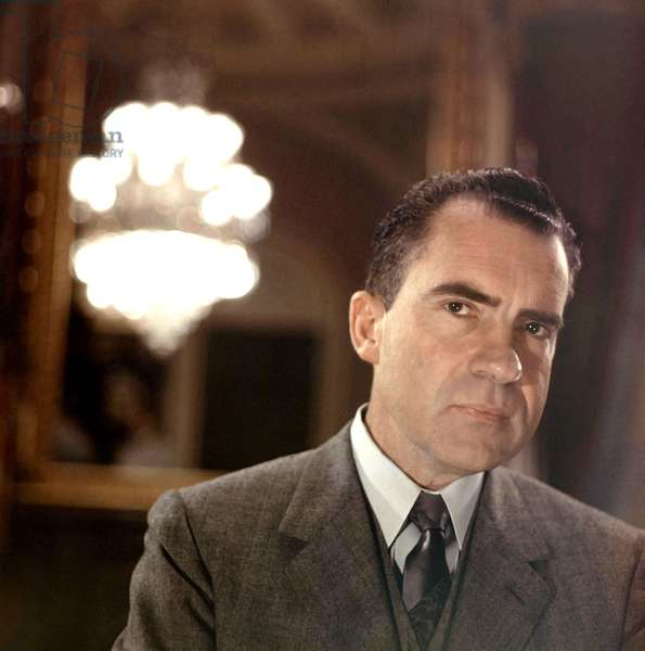 Richard Nixon, c.1950s, photo by Robert Phillips / Courtesy Everett Collection