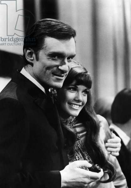 Hugh Hefner and Barbi Benton.ca 1969.