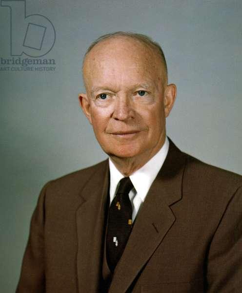 President Dwight Eisenhower. February 1959