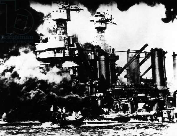 The Japanese attack on Pearl Harbor, December 7, 1941