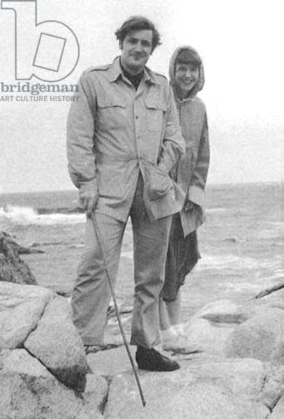 TED HUGHES and SYLVIA PLATH, Massachusetts, May 20th, 1959