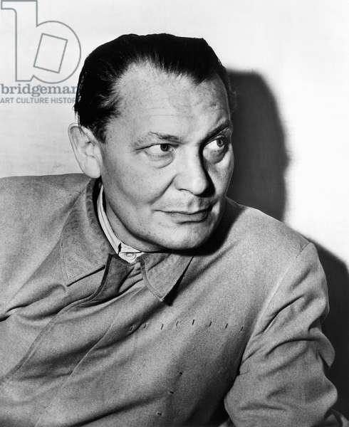 Nazi war criminal Hermann Goering, c. early 1940s