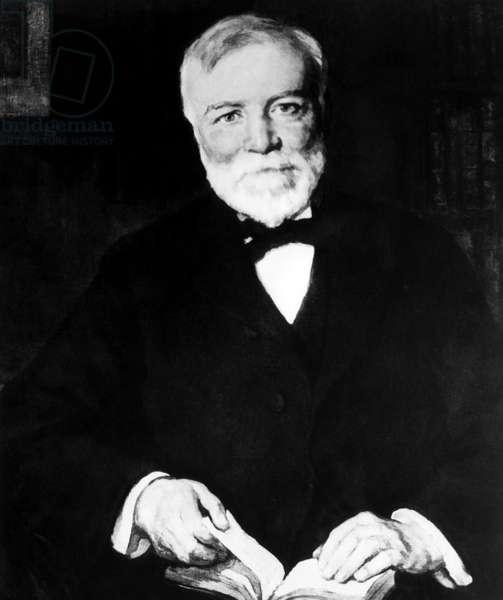 Andrew Carnegie (1835-1919), portrait by Luis Mora