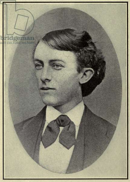 Henry Clay Frick (1849-1919) as a young man