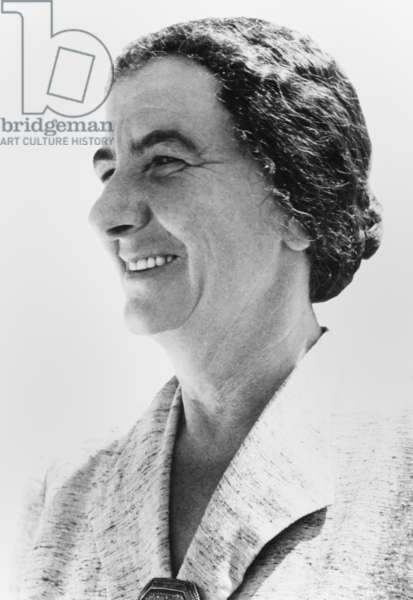 Golda Meyerson (Meir) was Israeli Minister of labor from 1949 to 1956. Meir was elected the Knesset in 1949 as a member of Mapai Party, the 'Workers' Party of the Land of Israel'